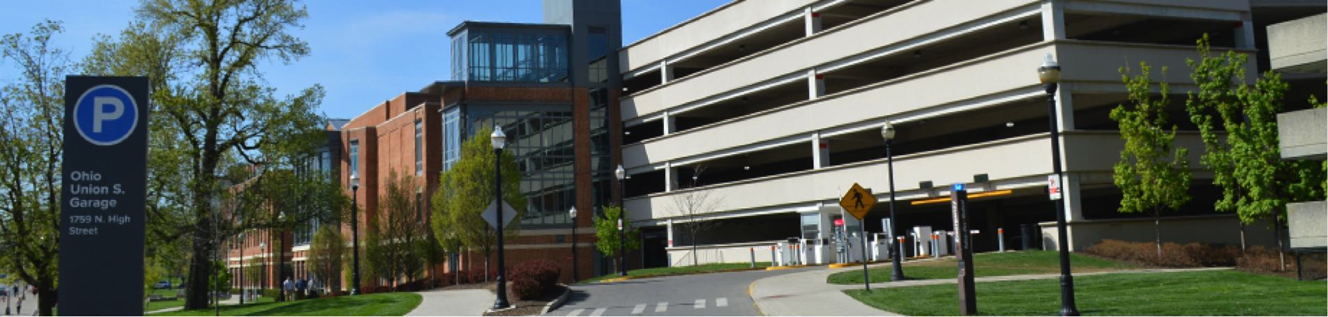 Image of the Ohio Union South Parking Garage